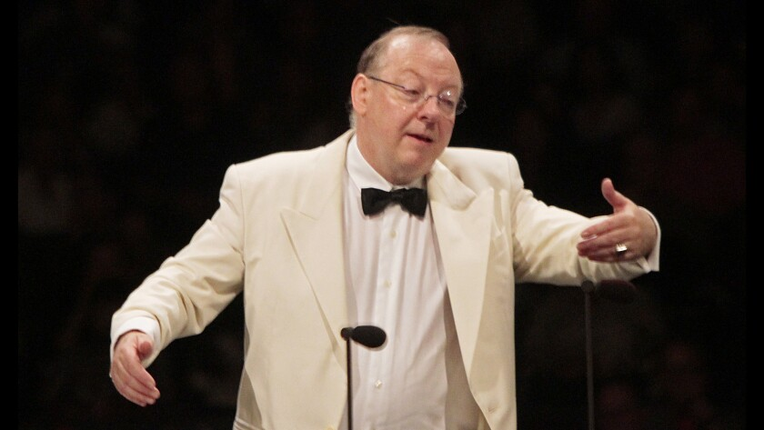 Nicholas McGegan returns to lead the Los Angeles Philharmonic in an all-Mozart program on Thursday.