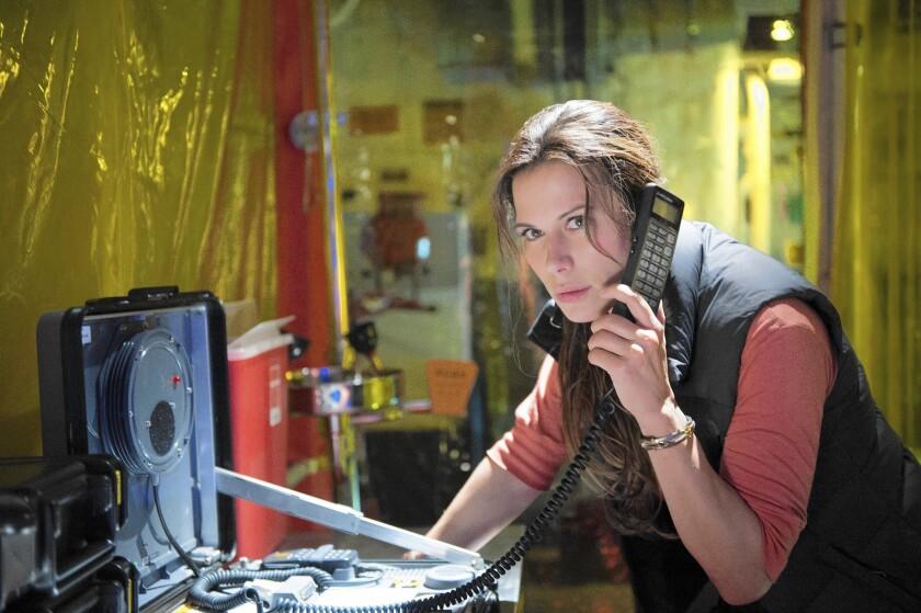 """Rhona Mitra stars in """"The Last Ship."""""""