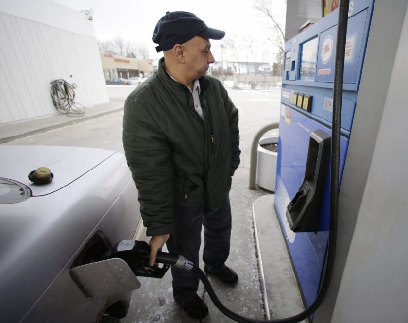 Gasoline's drag on household income hit 30-year high in 2012