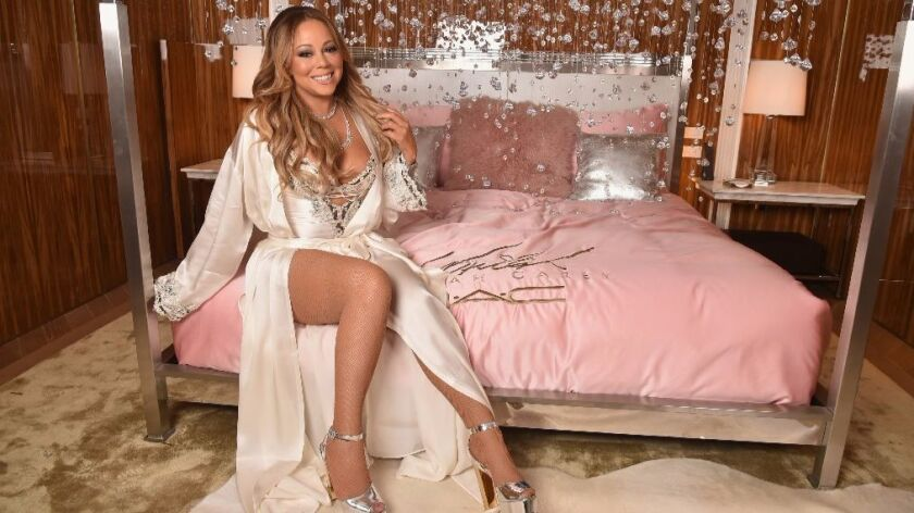 Mariah Carey attends the M.A.C Cosmetics Mariah Carey Beauty Icon Launch at Baccarat Hotel on Dec. 3, 2016 in New York City. She will join Lionel Richie for a joint 2017 concert tour.