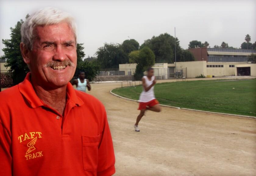 Former Taft track coach Mel Hein Jr.