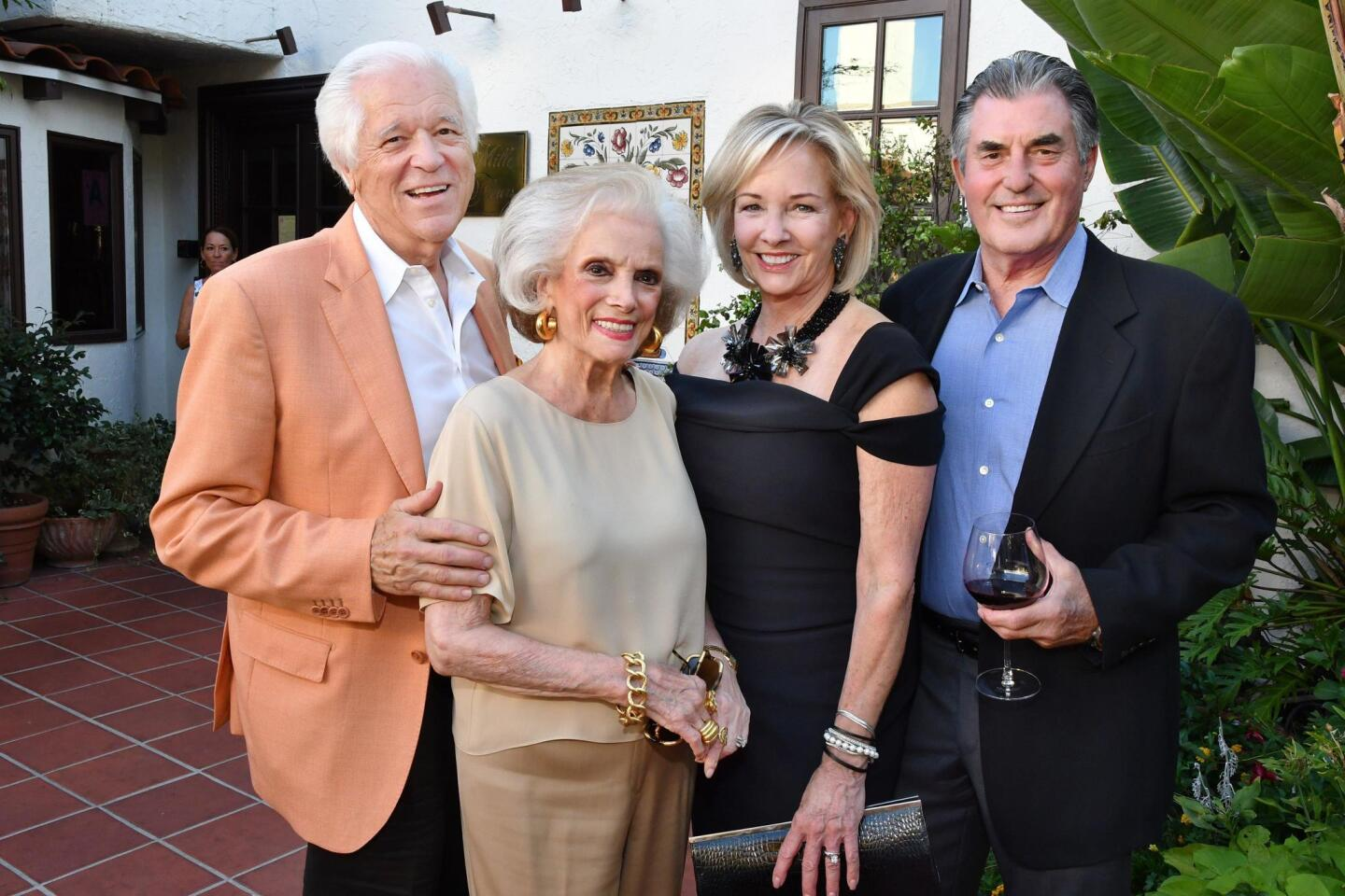 Bill and Connie McNally, Andrea Naversen Wait (2019 Art of Fashion honoree) and Dwight Wait