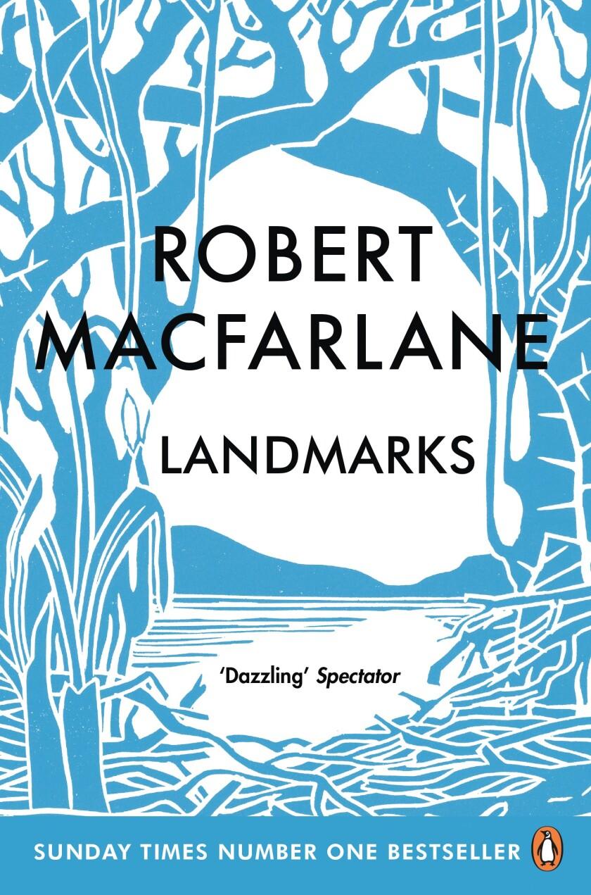 "Cover of ""Landmarks"" by Robert MacFarlane"