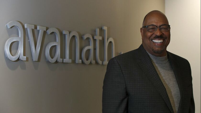 IRVINE, CALIF. - DEC. 6, 2018. Daryl Carter is chief executive of apartment owner Avanath Capital