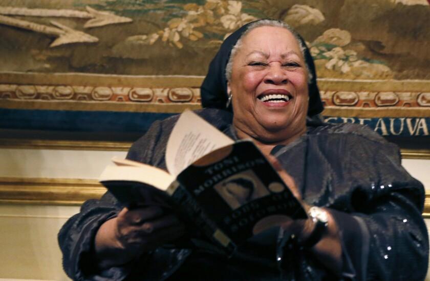 Toni Morrison has a new novel coming in April.