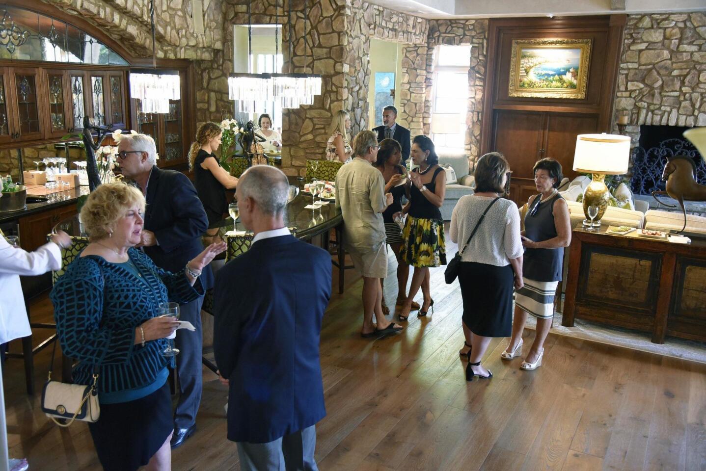 VIP reception held for La Maison De Cygnes
