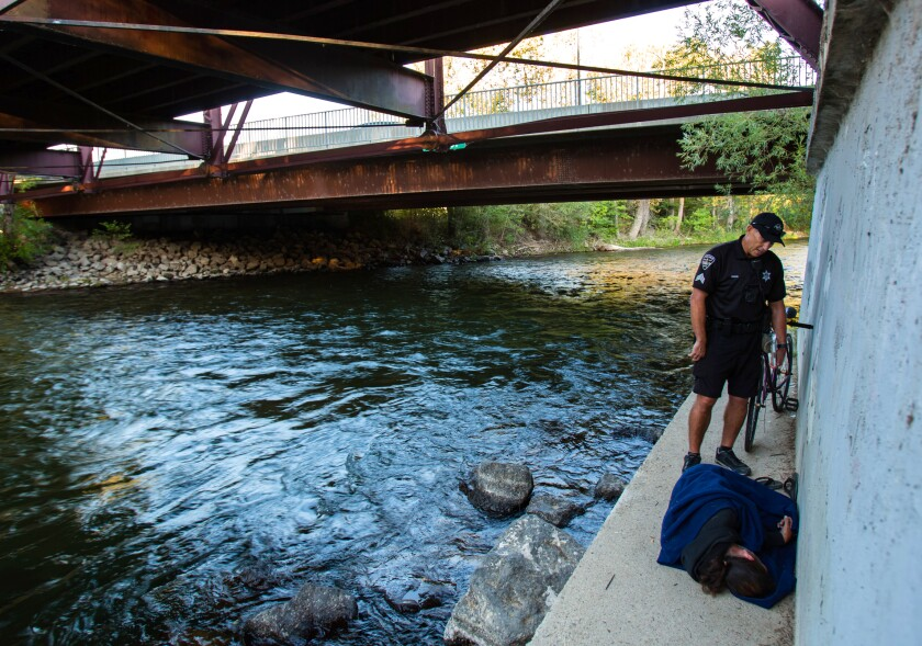 This city in Idaho is why L.A. can't legally clear its streets of homeless encampments