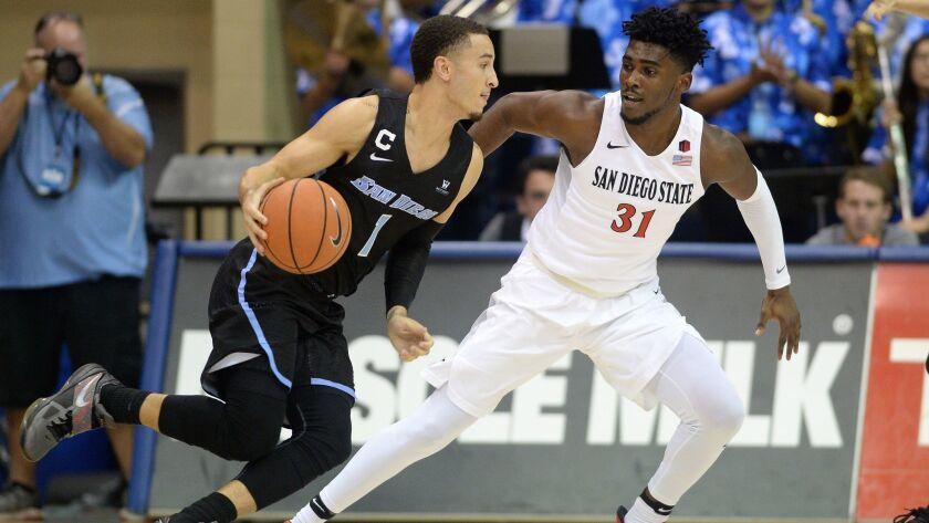 NCAA Basketball: San Diego State at San Diego