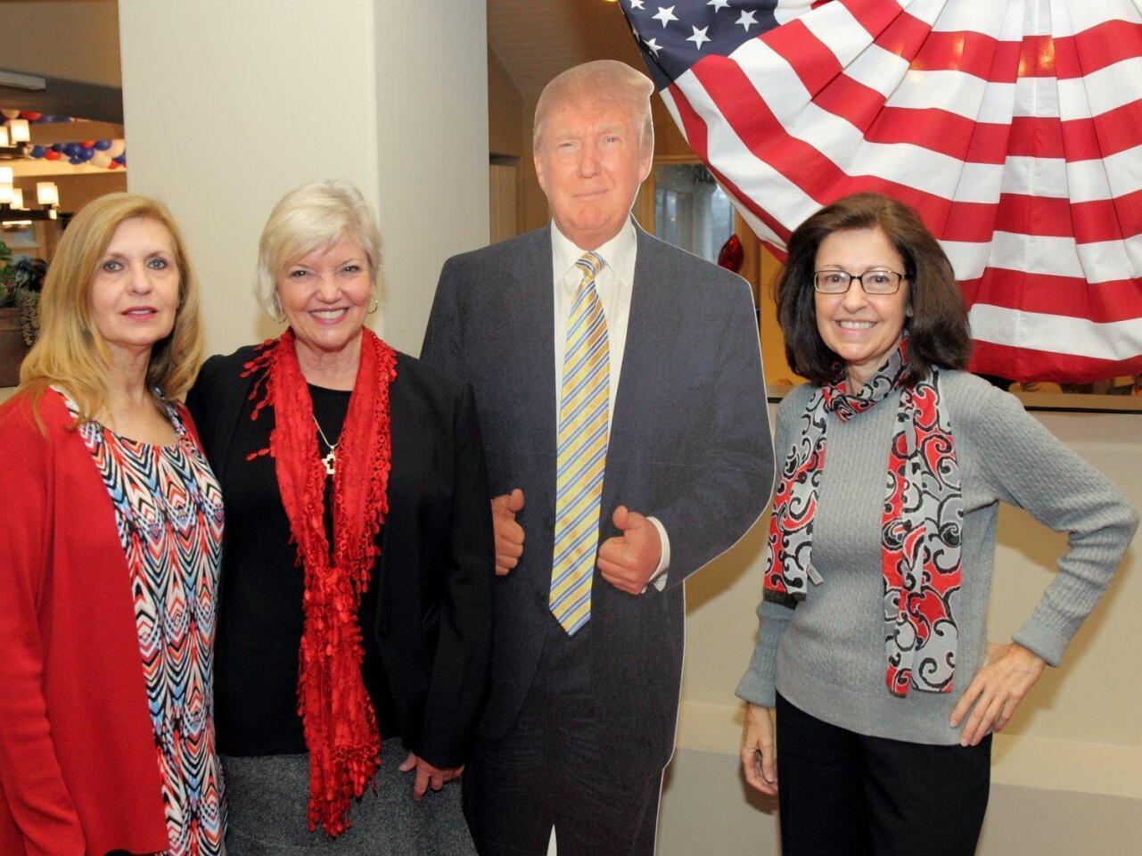 Judy Andry, Carolyn Perkins, Rosalie Mule