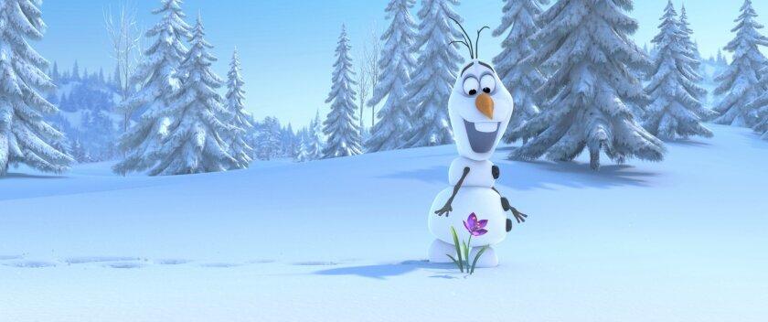 """Frozen"" helped Disney have a hot quarter."