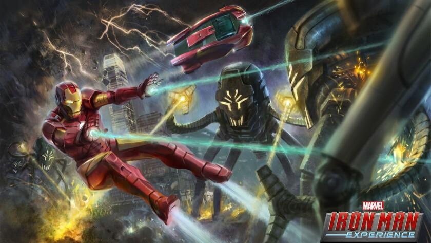 4) Iron Man Experience