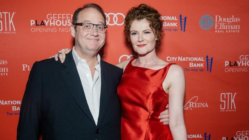Marc Cherry and Rebecca Wisocky
