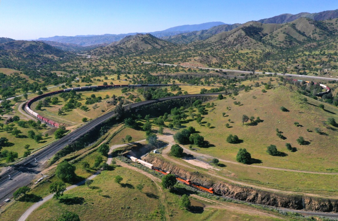 More than 340 BNSF employees were laid off this month