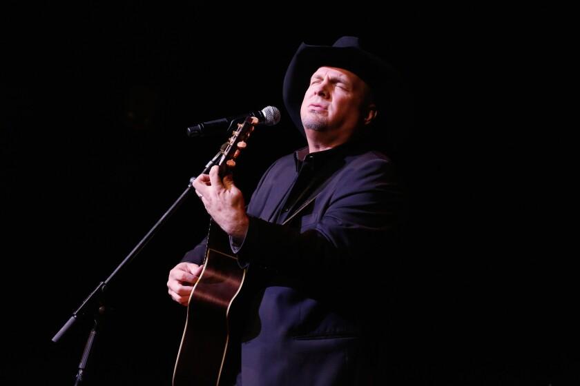 Garth Brooks performs at New York's Waldorf Astoria Hotel on Nov. 17, 2014.