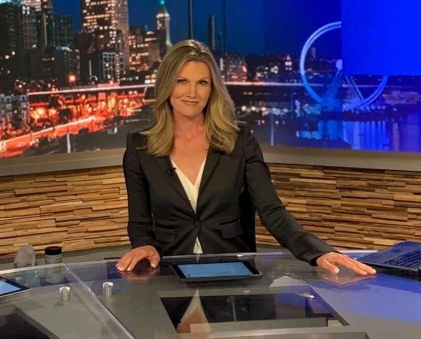 "Marni Hughes will be co-anchor of WGN America's ""News Nation."""