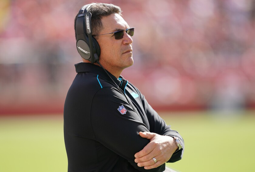 Former Carolina Panthers coach Ron Rivera is said to have accepted the Washington Redskins coaching job.