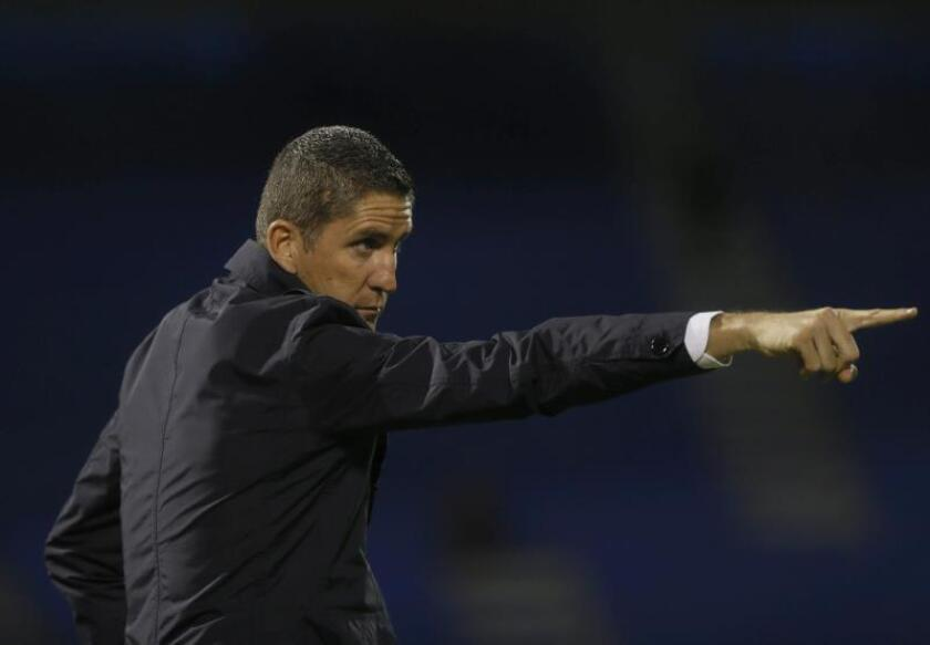 El entrenador español Juan Carlos Garrido. EFE/Archivo