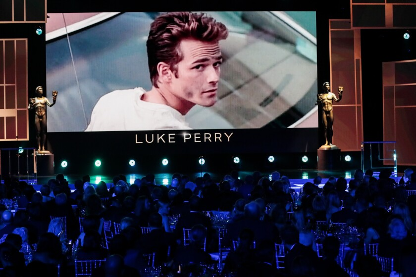 Academy explains Luke Perry's omission from Oscars In Memoriam segment