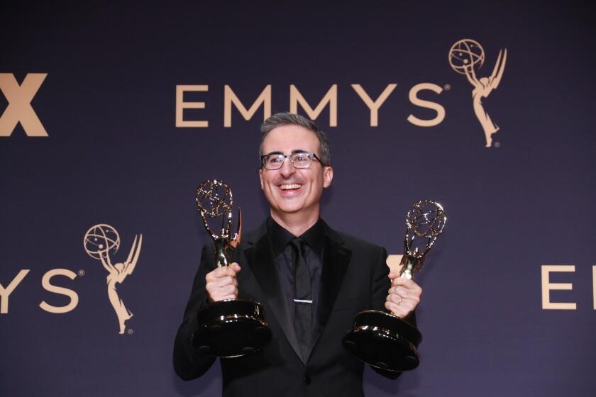 John Oliver at the 2019 Emmys