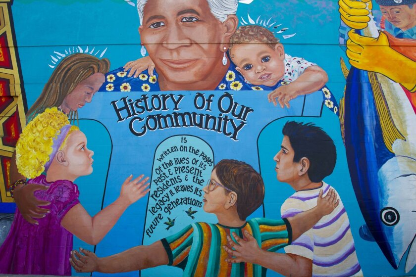 Chicano Park's colorful and meaningful murals are a sight to behold.