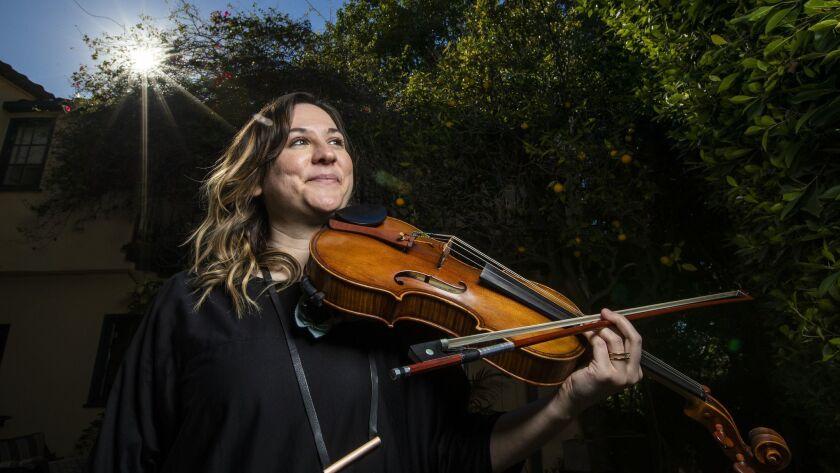 HOLLYWOOD, CALIF. -- THURSDAY, JANUARY 3, 2019: Nadia Sirota, a classical violist who produced and