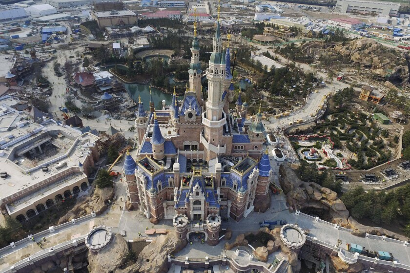 The Shanghai Disney Resort, set to open in June, is part of Disney's full-court press in China. The company's push there also included the DisneyLife streaming service.