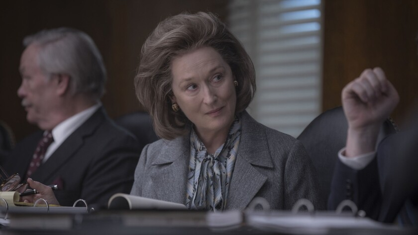 ****HOLIDAY SNEAKS 2017***DO NOT USE PRIOR TO SUNDAY, NOVEMBER 5, 2017********Meryl Streep in a scen