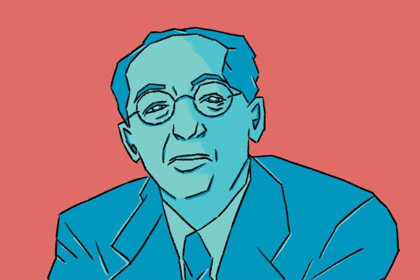 Illustration of Aaron Copland