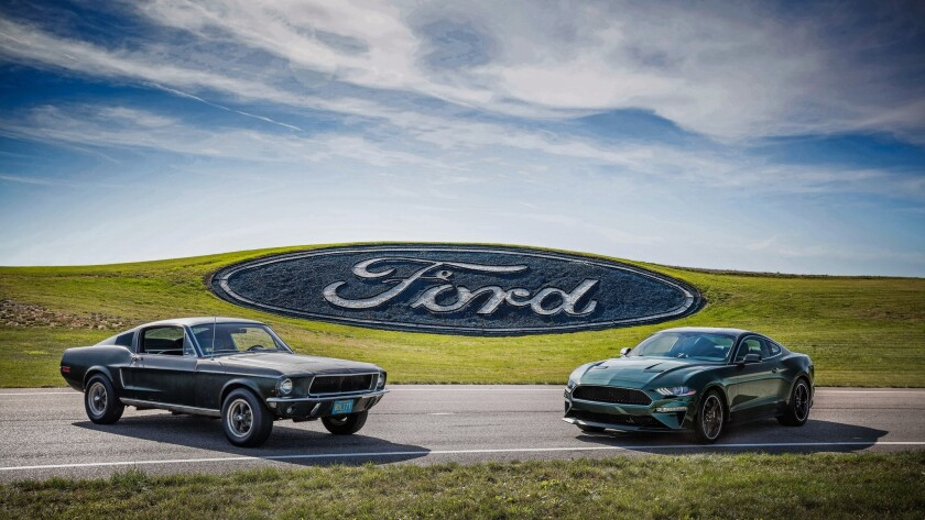 1968 Mustang Gt Bullitt Movie Car To Be Shown In San Diego The San Diego Union Tribune