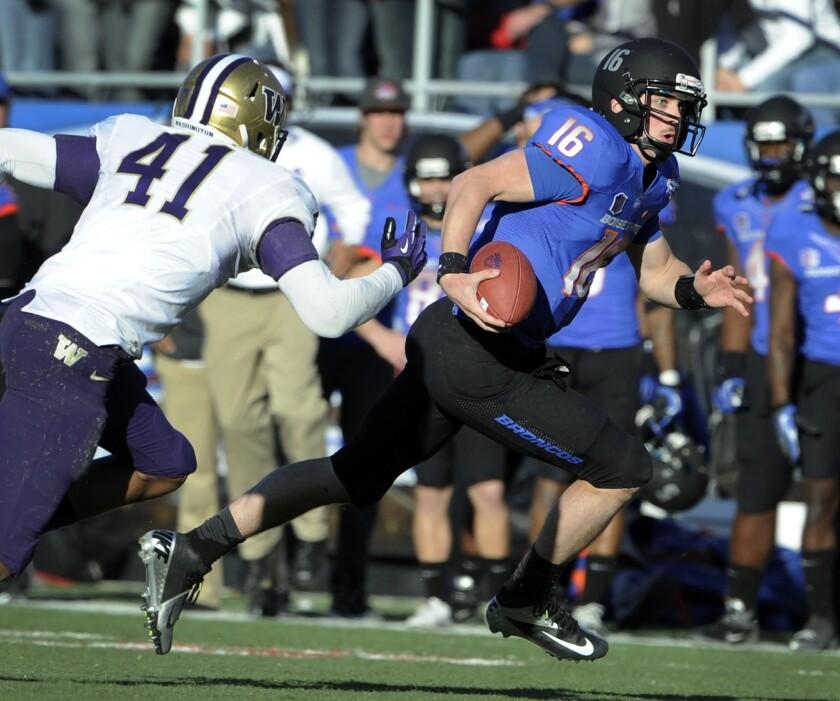 Boise State quarterback Joe Southwick hopes to improve on his uneven 2012 campaign.