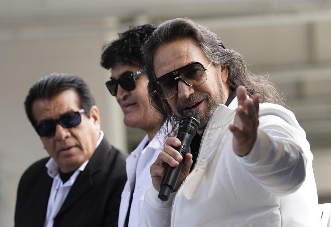 Marco Antonio Solís promete un espectáculo para historia al lado de sus amigos y familiares, Los Bukis.