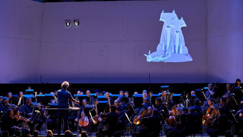 "The Cleveland Orchestra production of Janacek's ""Cunning Little Vixen,"" conducted by Franz Welser-Mo"