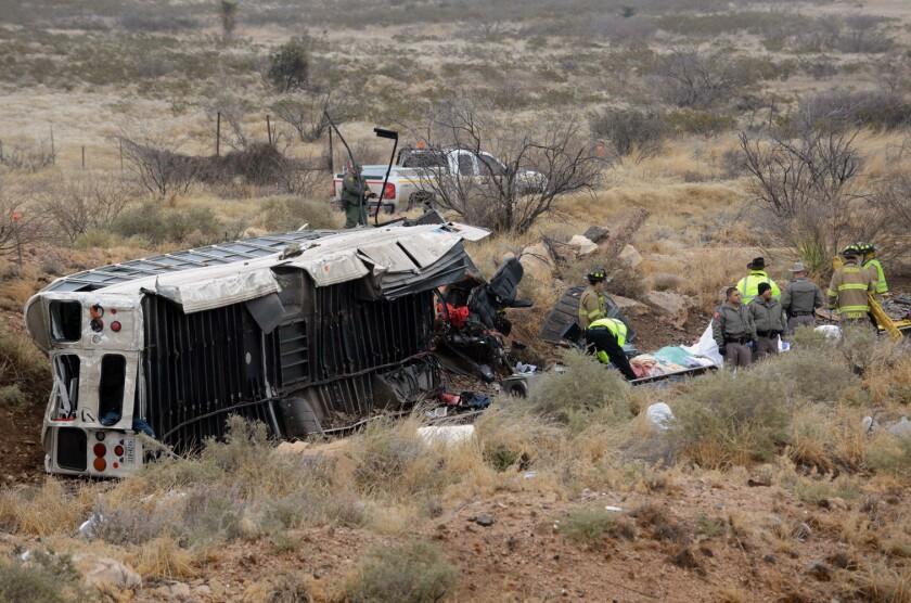 Texas prison bus wreck