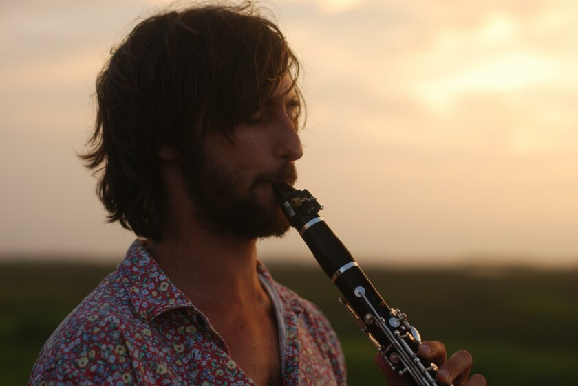 Clarinet player Philip Lipton performs July 10 at La Jolla's Riford Library.