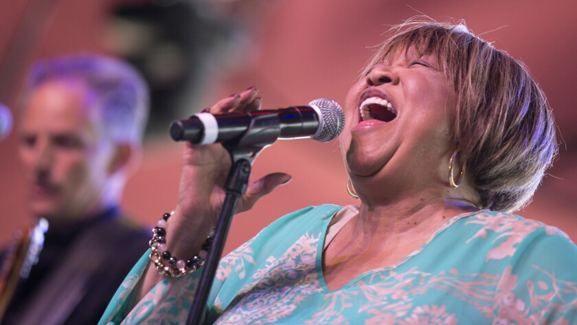Mavis Staples, seen performing at Coachella in 2016, has a new album on which she addresses the difficult issues of the day.