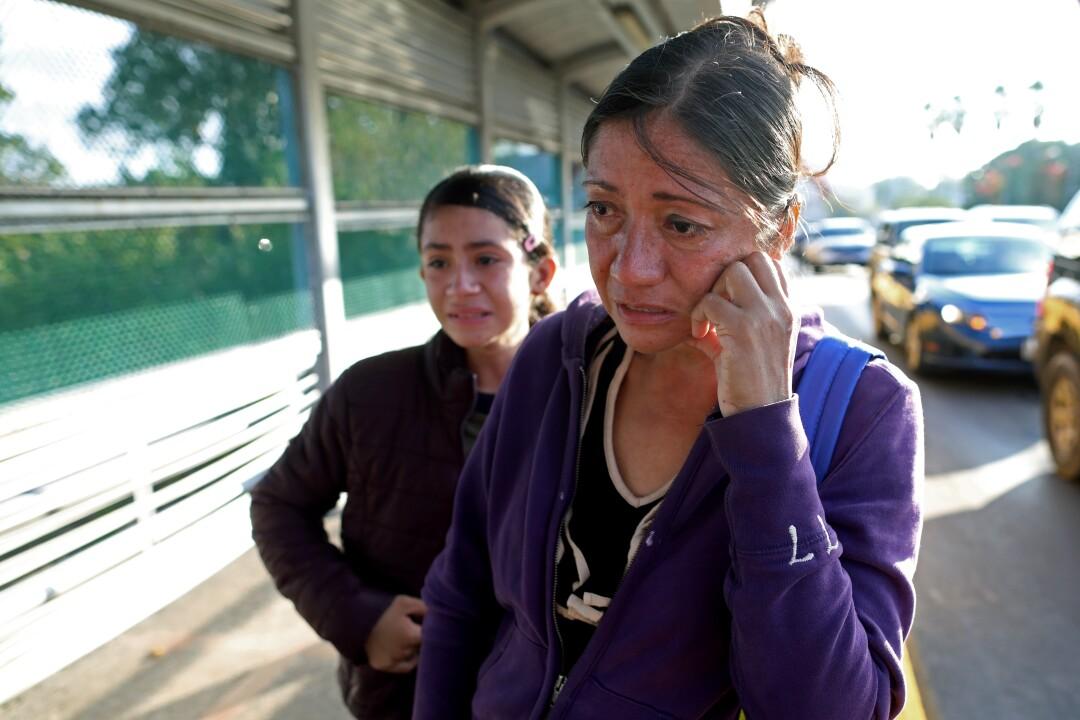 Migrants' hearings delayed