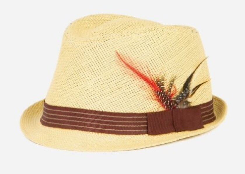 Fedora courtesy San Diego Hat Company.