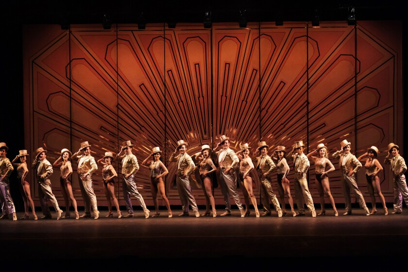 """The cast of Moonlight Stage Productions' """"A Chorus Line."""""""