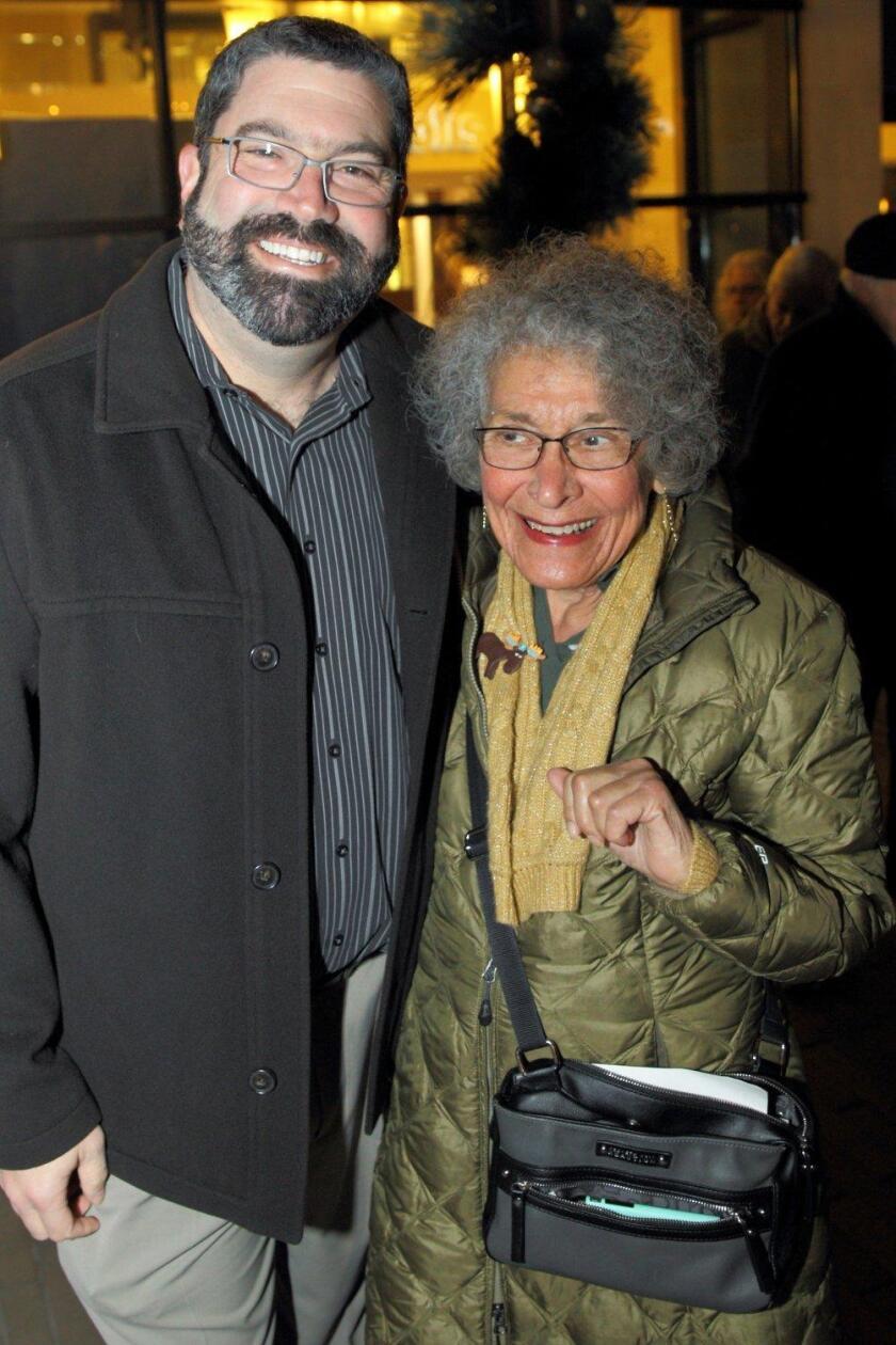 Rabbi David Kornberg and Lynn Salsberg