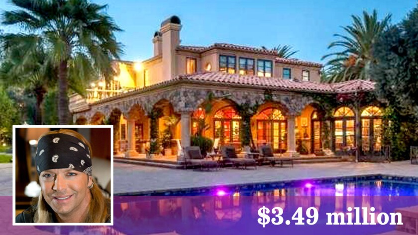 Bret Michaels has bought at house in Westlake Village for $3.49 million.