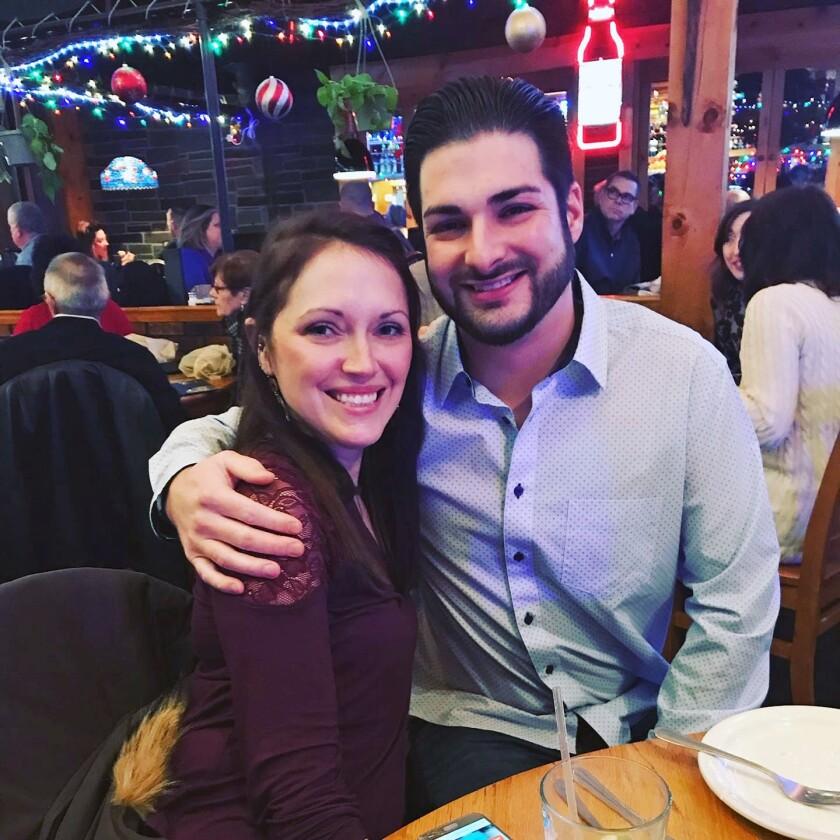 Erin and Shane McGowan