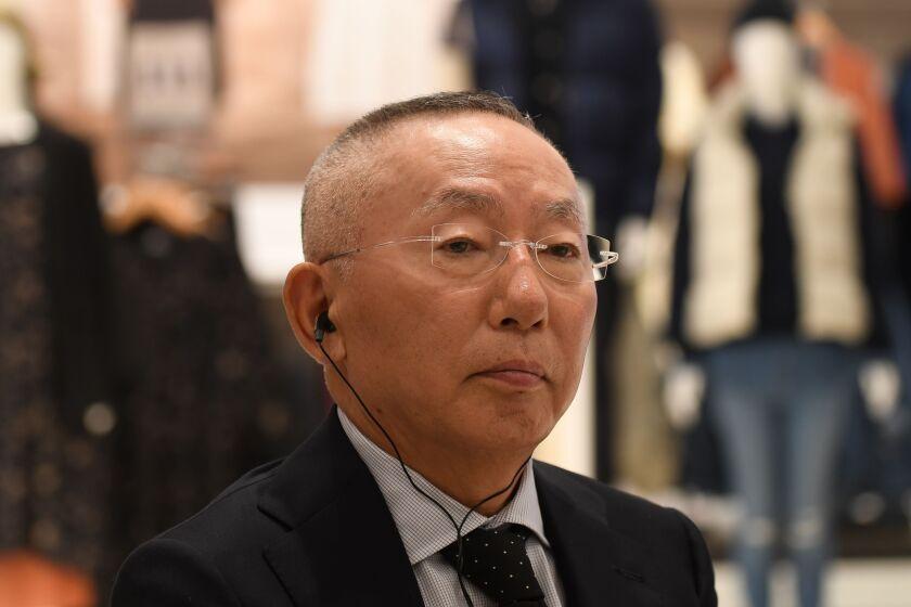 Uniqlo founder Tadashi Yanai