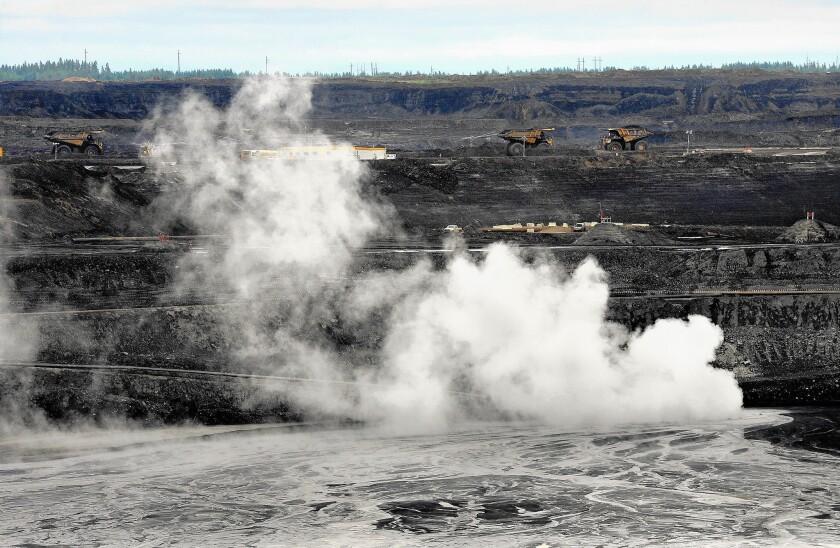 Canadian oil fields