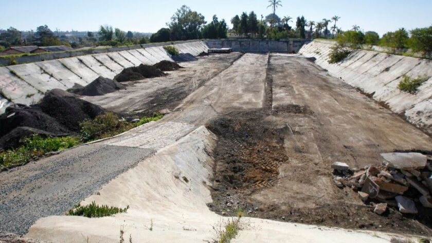 Carlsbad may turn this century-old water reservoir into a neighborhood park.