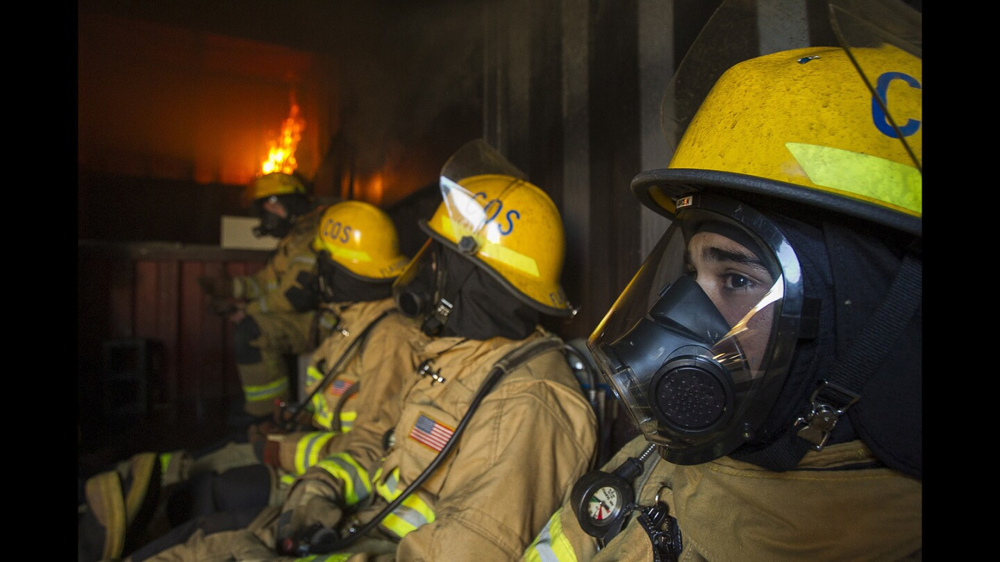 Photo Gallery: Costa Mesa Fire Department training