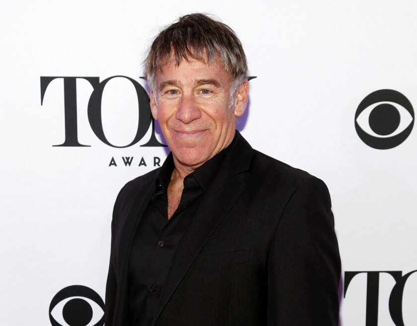 """FILE - In this April 29, 2015 file photo, Stephen Schwartz attends the 2015 Tony Awards Meet The Nominees press junket in New York. Schwartz, the composer for the Broadway hit """"Wicked,"""" will be the recipient of the Isabelle Stevenson Tony Award on Sunday June 7. (Photo by Andy Kropa/Invision/AP, File)"""