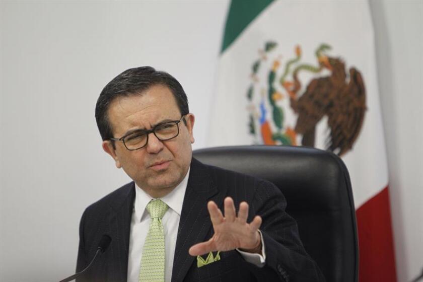 El secretario de Economía de México, Ildefonso Guajardo. EFE/Archivo