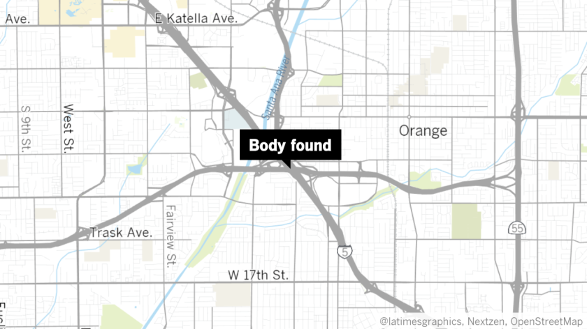 Body found on 5 Freeway in Santa Ana after being run over