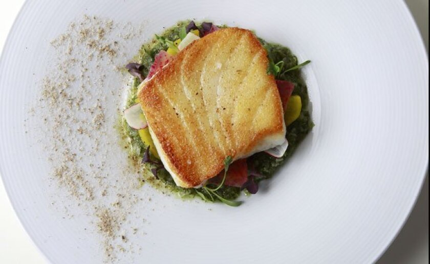 The wild sea bass is a top seller at 1500 Ocean.
