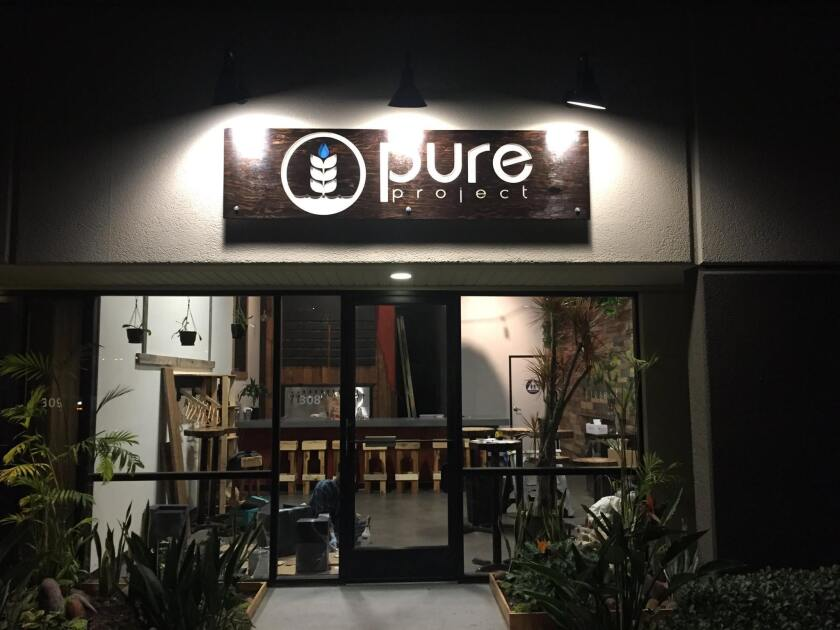Pure Project Brewing Co. opened it's doors a year ago through the Brewery Igniter program.